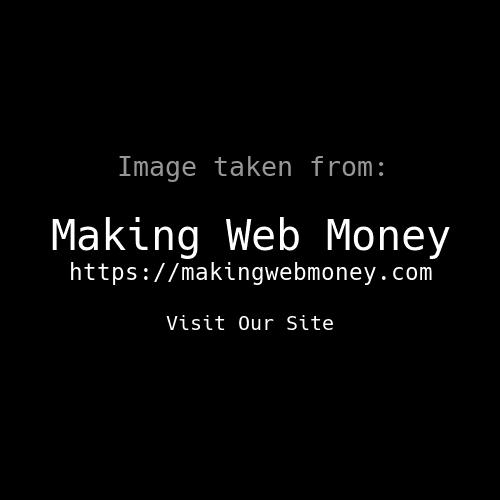 Making Web Money June 2017